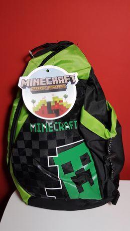 Plecak Minecraft na jedno ramię.