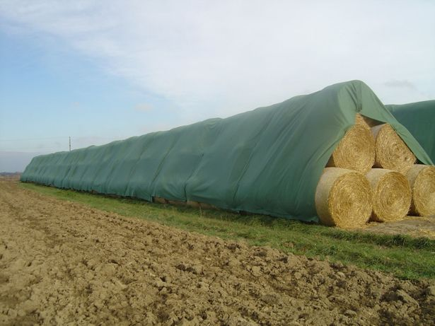 Fliz ochrona przed deszczem na słomę i siano Włoknina Agrowłóknina