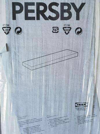 Pułka ścienna wisząca biała IKEA