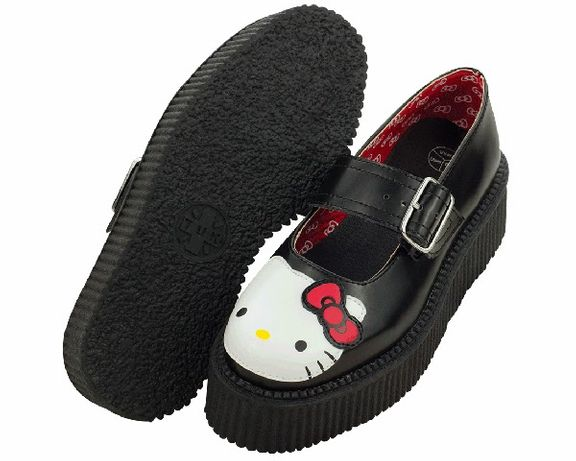Vendo TUK Shoes Hello Kitty Mary Jane Creeper - NOVOS