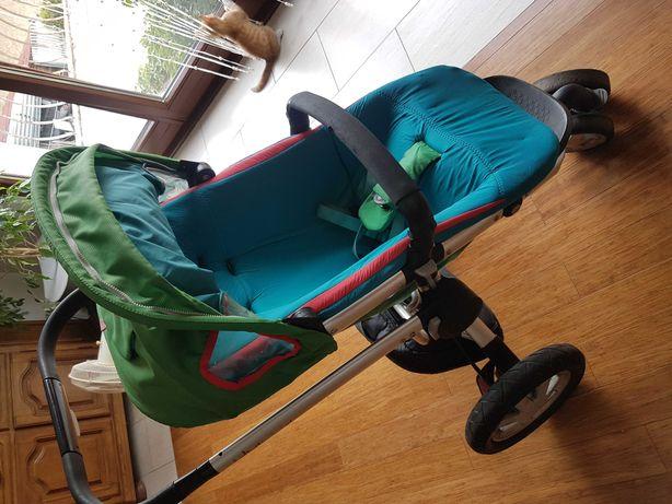 Wózek dziecięcy øinny gondola + spacerówka+ fotelik maxi cosi