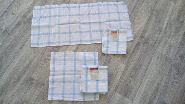 Вафельное полотенце 2шт+салфетки 6шт.