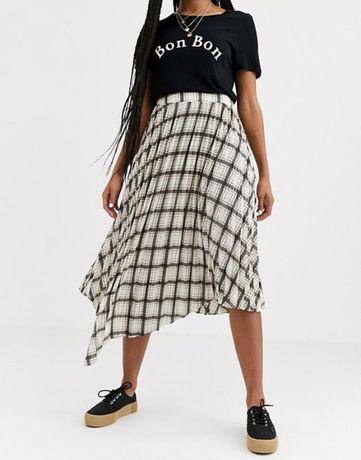 Новая миди юбка, плиссе Miss Selfridge