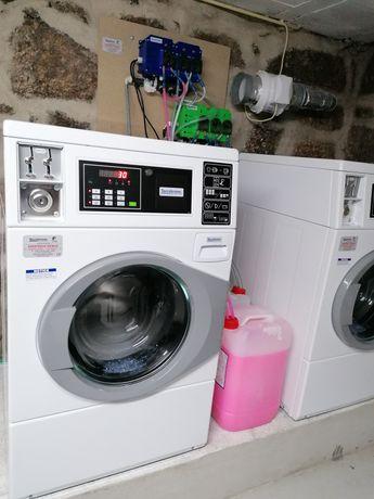 Lavandaria self service 100% automática desinfecção Covid-19