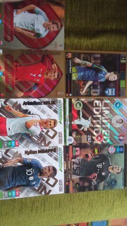 Karty piłkarskie XXL