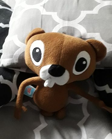 Maskotka wiewiórka brązowa na prezent dla dziecka tania