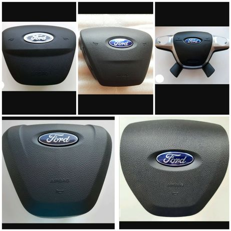 Кришка муляж обманка в руль подушка безпеки Фокус Ford Focus 3 Edge