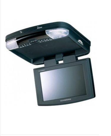 """MACROM monitor samochodowy podwieszany LCD 9"""" DVD USB SD"""