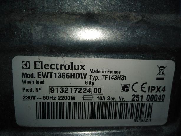 Części do pralki ELEKTROLUX EWT 1366HDW silnik, fartuch itp.
