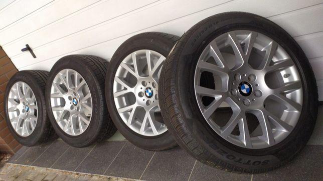 """Koła aluminiowe alufelgi BMW 7 , 5 18"""" 5x120 opony zimowe 245/50/18"""