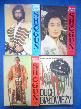 Książki różne-Shogun