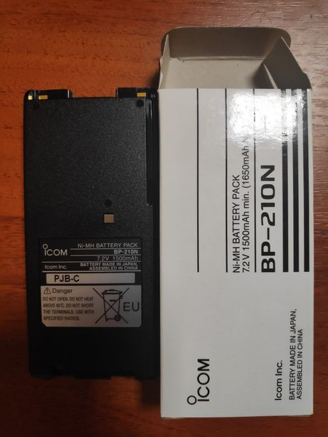 Аккумулятор icom BP-210N для радиостанций Новый!!! Оригинал!!!