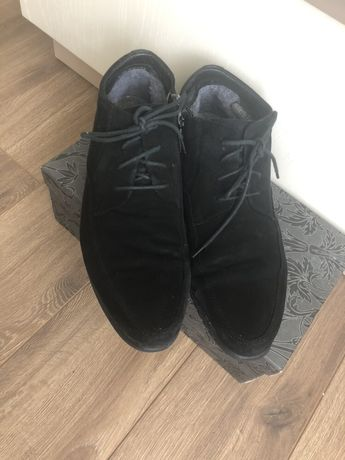 ботинки,натуральный замш Roberto Paulo,р.41