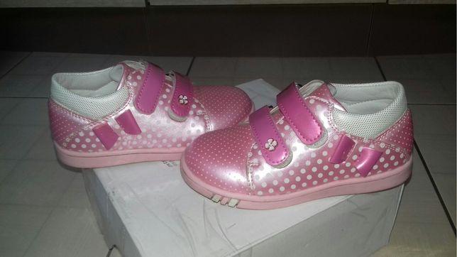 Туфли осенние на девочку