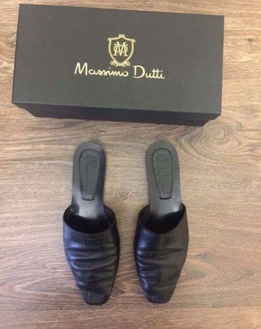 Стильные Крутые Мюли Massimo Duti, размер 37. Очень удобные!