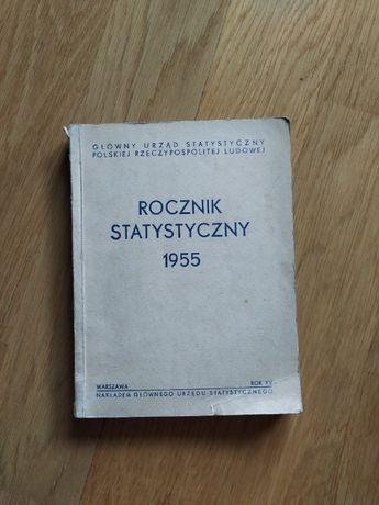 Rocznik statystyczny 1955, Główny Urząd Statystyczny PRL