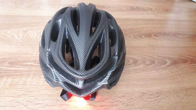 Kask rowerowy Cairbull z wizjerem NOWY
