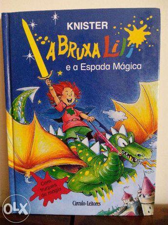 A Bruxinha Lili e a espada mágica