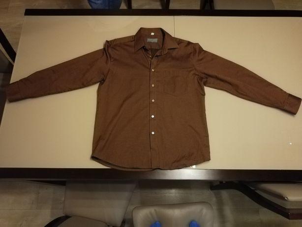 Sprzedam brązowa koszulę marki Sunset Suits. Rozmiar L/42.