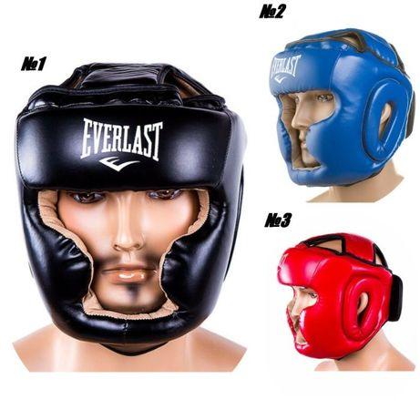 Шлем боксерский открытый закрытый, еверласт, венум, твинс, супер цена