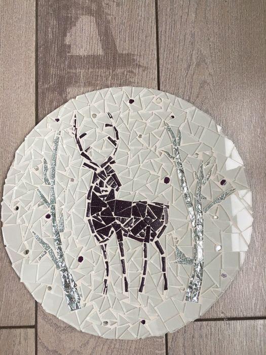 Картина из стекла олень мозаика Днепр - изображение 1