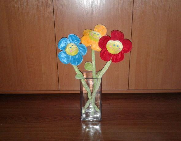Букет мягких цветов 3 шт.