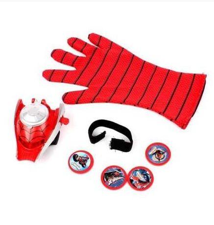 Набор перчатка с метателем дисков супергероя