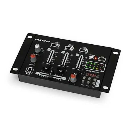 Mikser DJ mikser Bluetooth USB czarny 210515