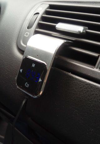 FM трансмиттер, адаптер BT, свободные руки в авто.