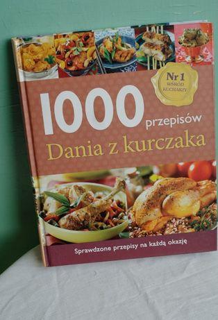 """Książka kucharska """"1000 przepisów - dania z kurczaka"""""""