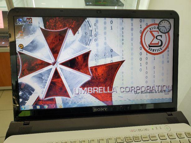 Быстрый надёжный японский ноутбук SONY SVE 15. Магазин SIGMA