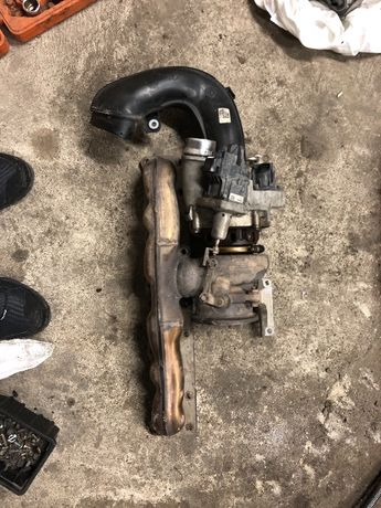 Turbosprężarka BMW F15