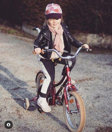 Rower 16'' Le Grand Annie, czerwony, stan idealny, gratisy