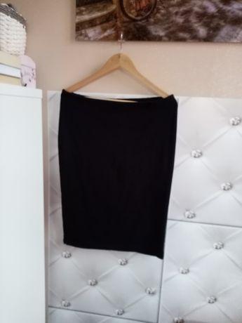 BASIC - Spódnica czarna uciągliwa L/XL 95% Bawełna