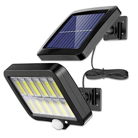 Luz de Parede a Energia Solar com Sensor de Movimento