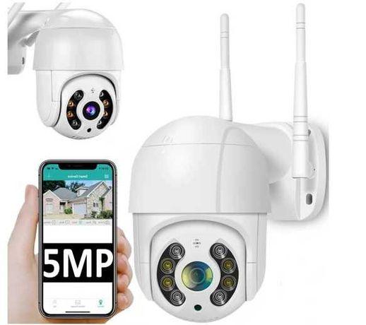 Kamera zewnętrzna obrotowa WIFI IP 4x ZOOM SD 5Mpx