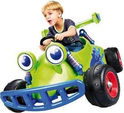 Carrinho a Bateria 6 Volts Toy Story para crianças - Novo