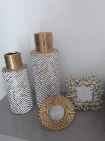 Recheio lote decoração casa Zara home (jarras, potes, porta retratos)