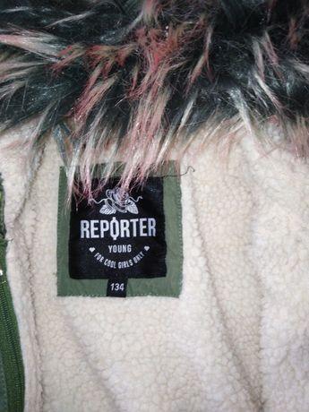 Kurtka reporter Young 134 jesienno zimowa