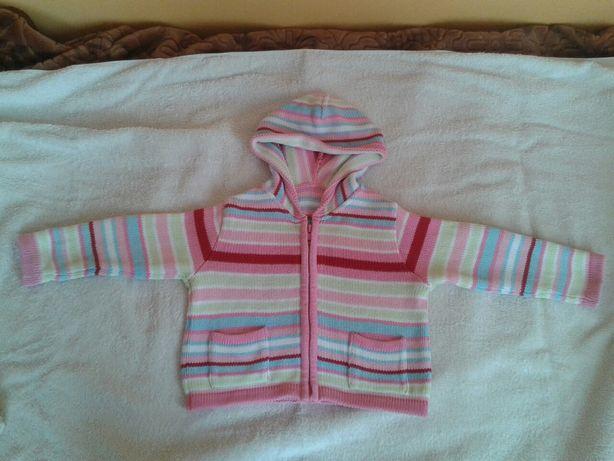 Sweter sweterek r80/86 rozpinany