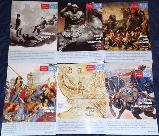 Bitwy Świata - 43 zeszyty. Kampanie, które zmieniły bieg historii