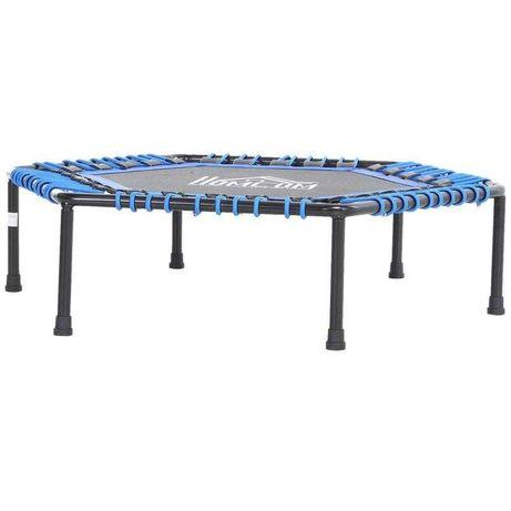 Trampolina fitness  do jogi  ogrodowa niebieska 105 x wys. 26 cm