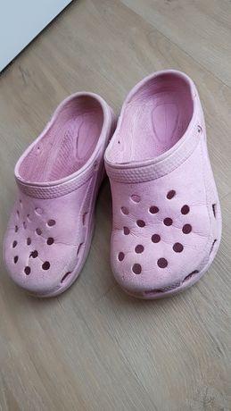 Dziewczęce buty ogrodowe ala crocs 30