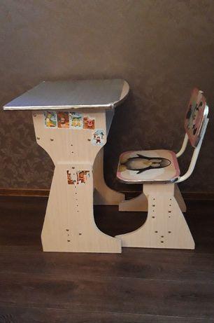 Детский комплект регулируемой мебели (мини-парта)