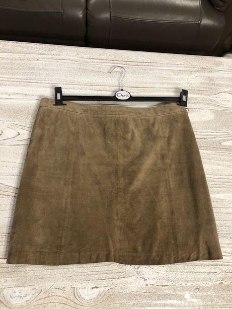 Spódnica skórzana Camaieu rozmiar 42