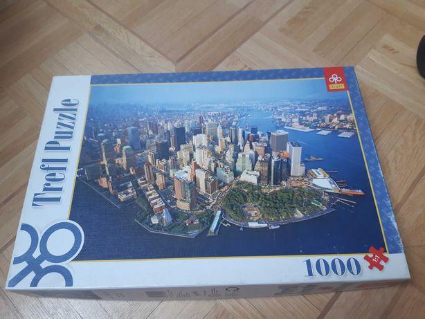Puzzle 1000 Nowy Jork  nowe - tylko rozpakowane