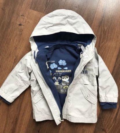 Куртка ветровка 2 в 1 демисезонная C&A Германия,86-92 см,1,5-2,5 года