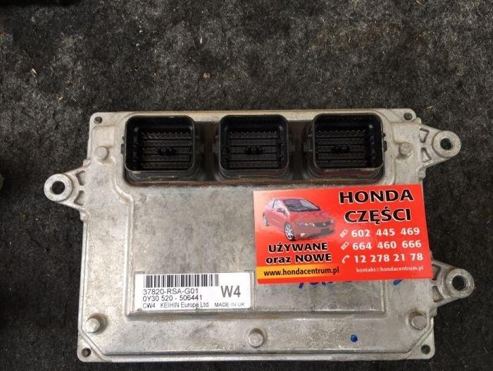 komputer silnika - Honda Civic ufo VIII gen , 37820-RSA-G01 Wieliczka - image 1