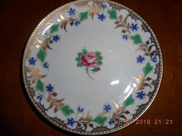 Bonito prato de porcelana Porcel