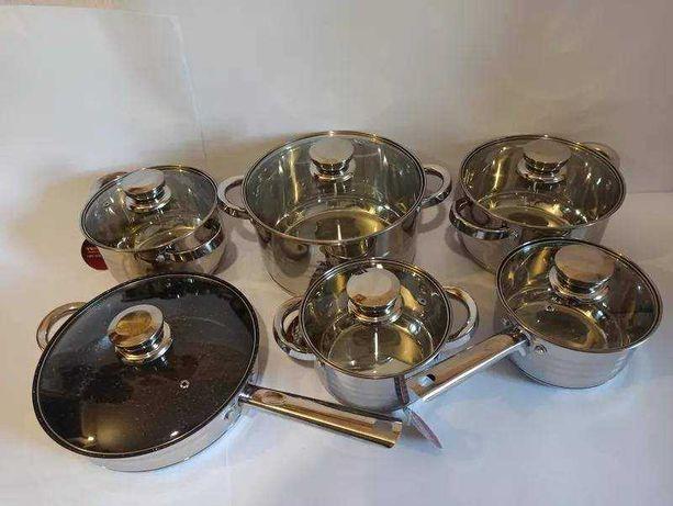 Набор кухонной посуды Swiss Family SF-1225M 12 предметов